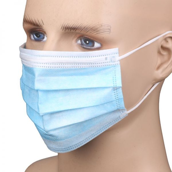 In stock! Fast Delivery! High Quality Non Woven Disposable Face Mask 3 Layers Anti-Dust Face Masks Ear loop Mouth Mask